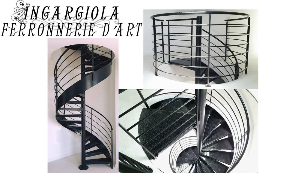 Escalier hélicoïdal Hyères